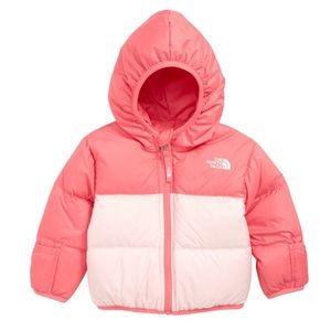 The North Face Infant Girls Reversible Down Jacket